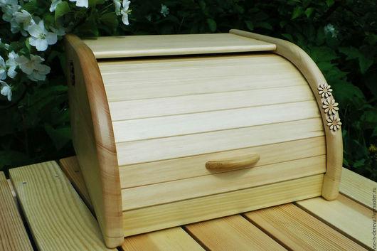 Кухня ручной работы. Ярмарка Мастеров - ручная работа. Купить Хлебница деревянная из кедра. Handmade. Хлебница, для кухни, деревянная свадьба