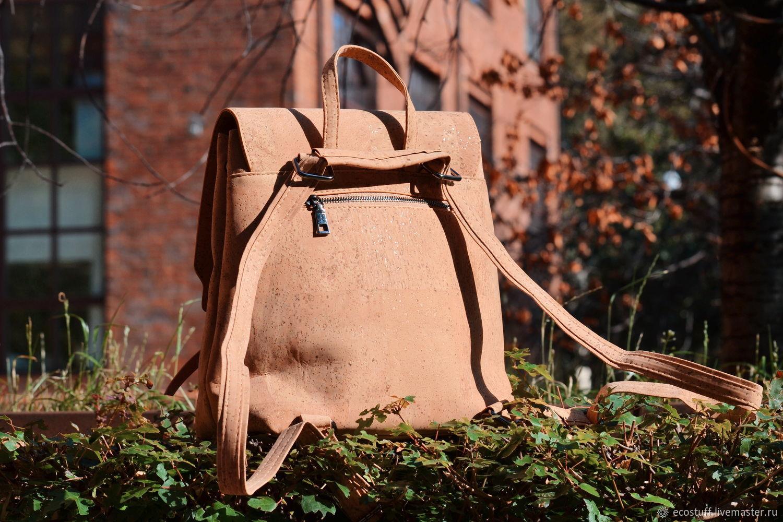 Рюкзак из португальской пробки ЭКО