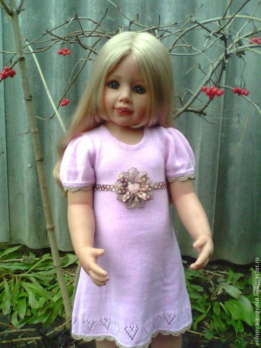 Одежда для девочек, ручной работы. Ярмарка Мастеров - ручная работа. Купить платье Мое сердечко. Handmade. Бледно-розовый