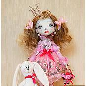 Куклы и игрушки ручной работы. Ярмарка Мастеров - ручная работа авторская кукла ПРИНЦЕССА. Handmade.