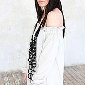 Одежда ручной работы. Ярмарка Мастеров - ручная работа Платье  Spring Flower. Handmade.