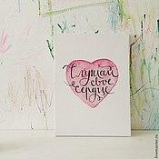 Картины и панно ручной работы. Ярмарка Мастеров - ручная работа Холст Сердце. Handmade.