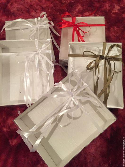 Праздничная атрибутика ручной работы. Ярмарка Мастеров - ручная работа. Купить Подарочная упаковка 2. Handmade. Упаковка, упаковка для бижутерии