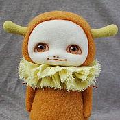 Куклы и игрушки ручной работы. Ярмарка Мастеров - ручная работа Фантазийная войлочная игрушка Рыжик. Handmade.
