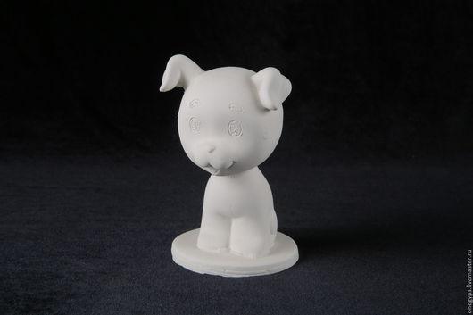 Развивающие игрушки ручной работы. Ярмарка Мастеров - ручная работа. Купить Гипсовая фигурка для раскрашивания Щенок Шарик. Handmade.