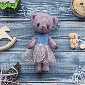 Куклы и игрушки ручной работы. Ярмарка Мастеров - ручная работа Мишка Тедди Варя. Handmade.