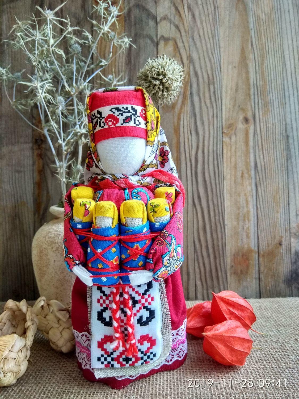 Народная кукла оберег для семьи Московка Плодородие Семья, Народная кукла, Салават,  Фото №1
