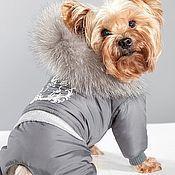Для домашних животных, ручной работы. Ярмарка Мастеров - ручная работа Одежда для собак комбинезон зимний Лапландия. Handmade.