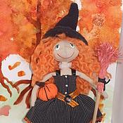 """Куклы и игрушки ручной работы. Ярмарка Мастеров - ручная работа Коллекционная куколка """"Хеллоуин"""". Handmade."""