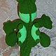 Сказочные персонажи ручной работы. Дракон зеленый вязаный. Sonmagia Art (SonmArt). Интернет-магазин Ярмарка Мастеров. Дракон игрушка