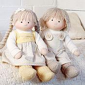 Куклы и игрушки ручной работы. Ярмарка Мастеров - ручная работа Текстильные куклы Малыши. Handmade.