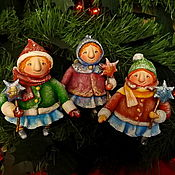Куклы и игрушки ручной работы. Ярмарка Мастеров - ручная работа Рождественские феи. Handmade.