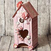 """Для дома и интерьера ручной работы. Ярмарка Мастеров - ручная работа Чайный домик """"Розовый сад"""". Handmade."""