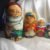 """Куклы и игрушки ручной работы. Ярмарка Мастеров - ручная работа Матрешки """"Репка"""". Handmade."""