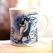 Посуда ручной работы. Ярмарка Мастеров - ручная работа Жил-был пес.... Handmade.