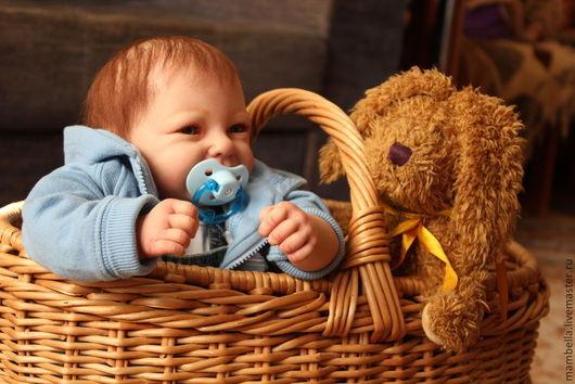 Куклы-младенцы и reborn ручной работы. Ярмарка Мастеров - ручная работа. Купить Кукла реборн Рома. Handmade. Кукла реборн