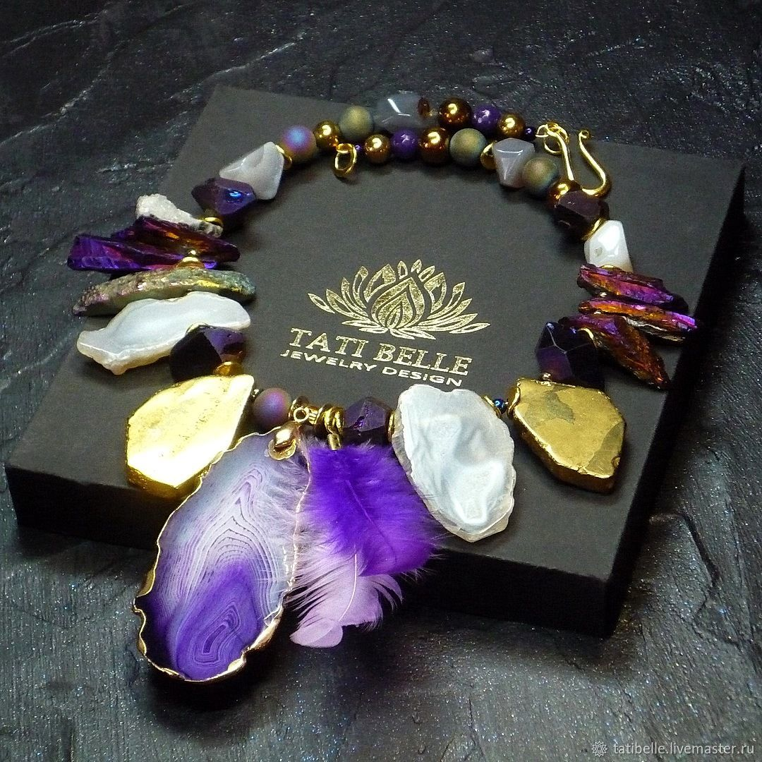 Necklace made of natural stones 'Fairy of Fairy Dreams', Necklace, Moscow,  Фото №1
