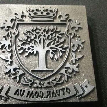 Дизайн и реклама ручной работы. Ярмарка Мастеров - ручная работа Атрибутика: Клеймо по дереву. Handmade.