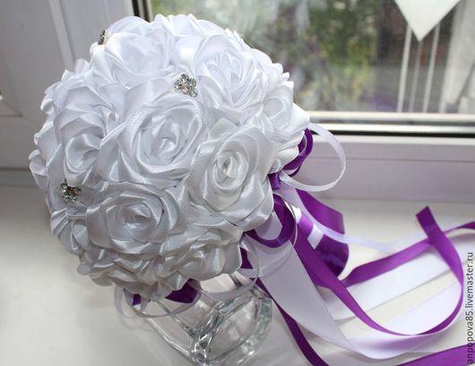 """Свадебные цветы ручной работы. Ярмарка Мастеров - ручная работа. Купить Букет-дублер невесты """"Очарование"""". Handmade. Букет невесты"""