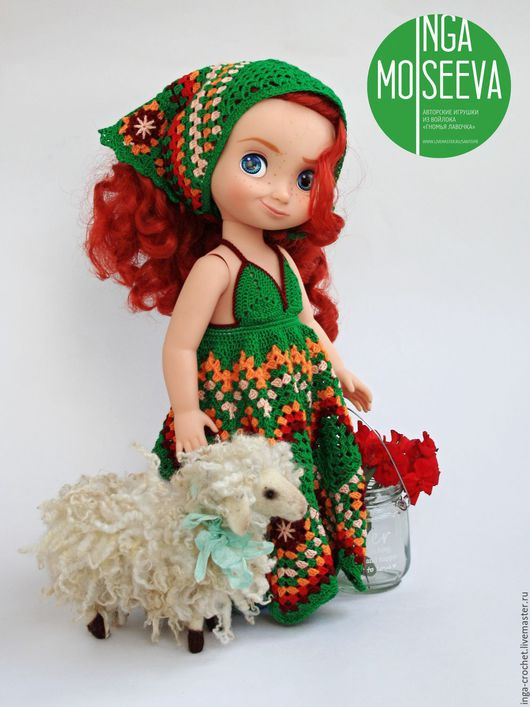 """Одежда для кукол ручной работы. Ярмарка Мастеров - ручная работа. Купить Наряд для куклы """"Индейское лето"""". Handmade. Комбинированный"""