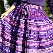 Одежда handmade. Livemaster - original item Boho-skirt