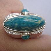Украшения handmade. Livemaster - original item Ring Amazonite. Handmade.