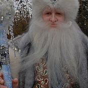 """Куклы и игрушки ручной работы. Ярмарка Мастеров - ручная работа Кукла""""Дед Мороз"""". Handmade."""