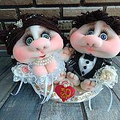 Свадебный салон handmade. Livemaster - original item Wedding gift, on a stand.. Handmade.