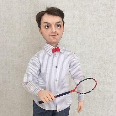 """Куклы и игрушки ручной работы. Ярмарка Мастеров - ручная работа Куклы: Портретно- шаржевая кукла """"Георгий"""". Handmade."""