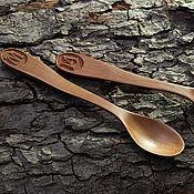 Посуда ручной работы. Ярмарка Мастеров - ручная работа Ложка детская деревянная, именная. Handmade.
