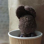 Куклы и игрушки ручной работы. Ярмарка Мастеров - ручная работа Шоколадный зайка для путешествий ;). Handmade.