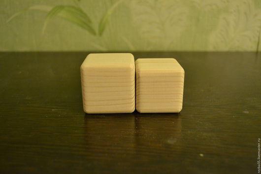 Декупаж и роспись ручной работы. Ярмарка Мастеров - ручная работа. Купить кубики с фаской. Handmade. Бежевый, кубики деревянные, ель