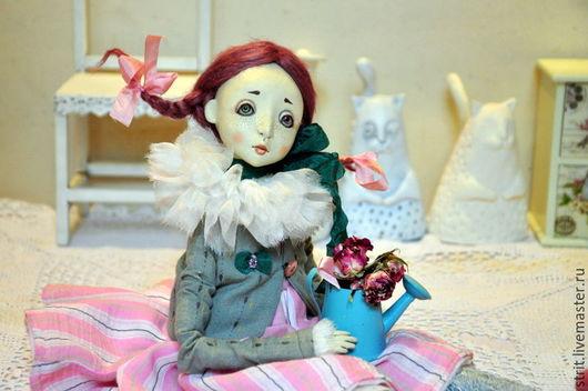 Коллекционные куклы ручной работы. Ярмарка Мастеров - ручная работа. Купить Франческа. Handmade. Розовый, darwi roc