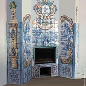 Для дома и интерьера handmade. Livemaster - original item Portuguese fireplace. Handmade.