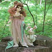 Куклы и игрушки ручной работы. Ярмарка Мастеров - ручная работа Флер..Фея волшебного сада.... Handmade.