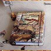 Канцелярские товары ручной работы. Ярмарка Мастеров - ручная работа Блокнот-альбом Travelbook. Handmade.