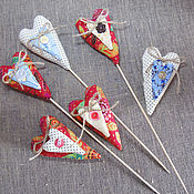 """Куклы и игрушки ручной работы. Ярмарка Мастеров - ручная работа Игрушки тильда """"Сердечки"""". Handmade."""