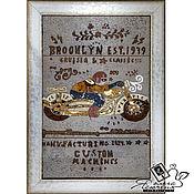 Картины и панно handmade. Livemaster - original item Copy of Copy of Copy of Panels made of cork «Classic Nautical Style». Handmade.