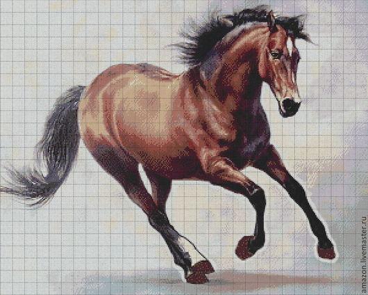 Конь - символ победы, храбрости и власти.