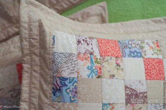 Текстиль, ковры ручной работы. Ярмарка Мастеров - ручная работа. Купить Подушки пэчворк, квилт. Handmade. Пэчворк, красивый подарок