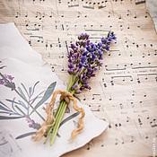 Цветы и флористика handmade. Livemaster - original item a bouquet of lavender. Handmade.