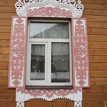 Русский стиль ручной работы. Ярмарка Мастеров - ручная работа Резные наличники и домовая резьба. Handmade.