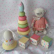 """Куклы и игрушки ручной работы. Ярмарка Мастеров - ручная работа Детский  набор """"Весёленький"""". Handmade."""