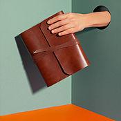 Канцелярские товары handmade. Livemaster - original item Diary genuine leather. Handmade.