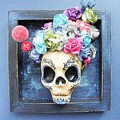 Для дома и интерьера handmade. Livemaster - original item Santa Muerte. suspension on the wall. Day Of The Dead.. Handmade.