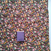 Ткани ручной работы. Ярмарка Мастеров - ручная работа 190 х 77 см. Ткань ситец, винтаж.. Handmade.