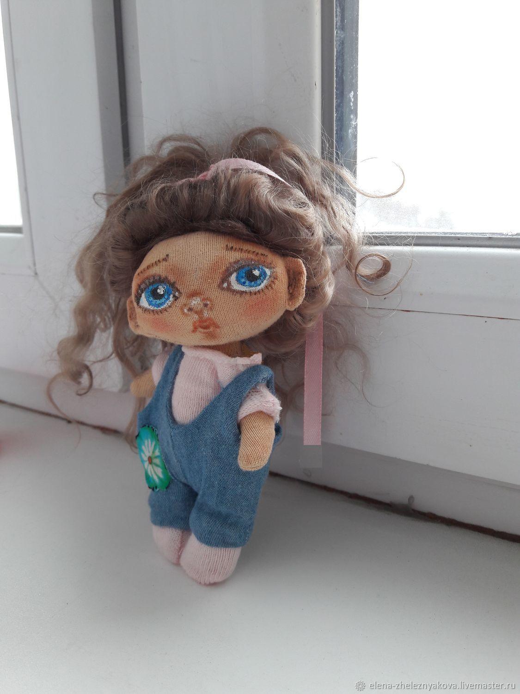 Анютка. Текстильная кукла, Куклы и пупсы, Москва,  Фото №1