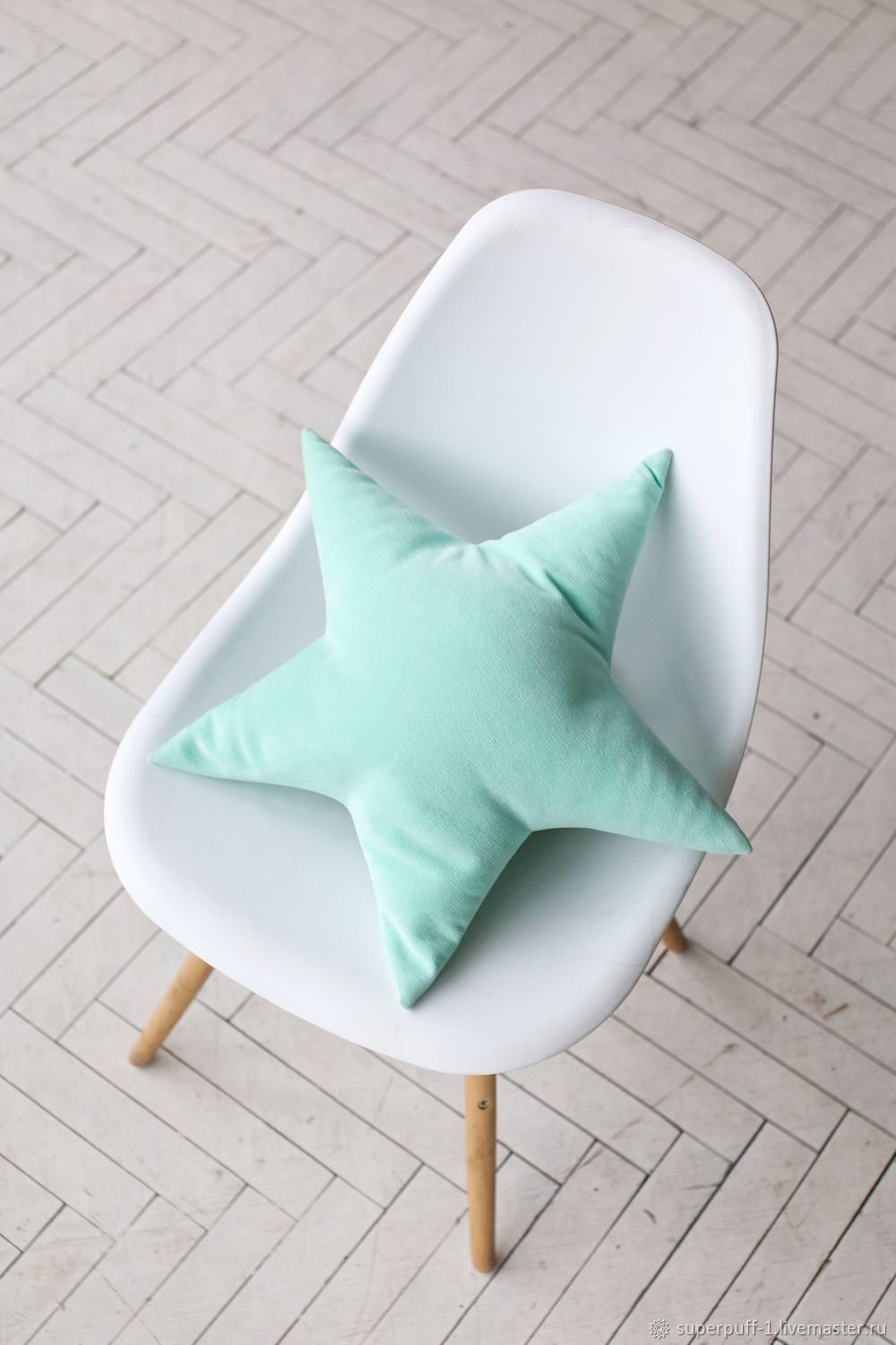 Decorative Pillow Star Mint Superpuff, Pillow, Moscow,  Фото №1