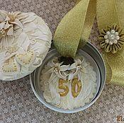 Подарки к праздникам ручной работы. Ярмарка Мастеров - ручная работа Медаль со шкатулкой. Handmade.