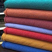 Материалы для творчества handmade. Livemaster - original item Italian fabric Boucle BISENTINO small in 7 colors. Handmade.